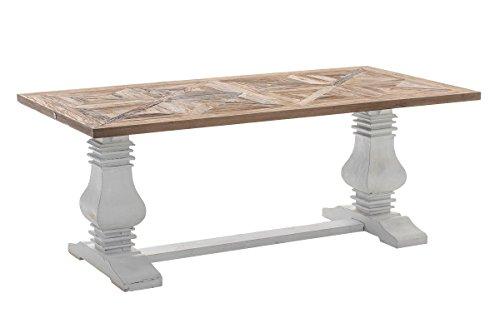 CLP Holz Esszimmer Tisch TABOA Handgefertigt Shabby Chic