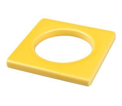 CULTDESIGN Cult Design Manschette für Teelichthalter gelb gelb