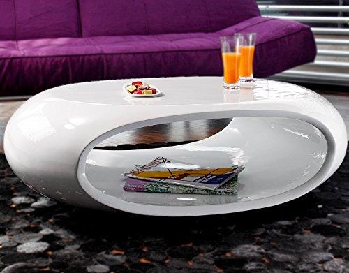 Couch-Tisch-Hochglanz-wei-oval-100x70-cm-aus-Fiberglas-Ofu-Moderner-Wohnzimmer-Tisch-in-weiss-mit-trendiger-Optik-durch-High-Gloss-Oberflche-100cm-x-70cm-0
