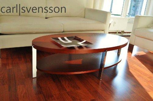 DESIGN-COUCHTISCH-O-111-Kirschbaum-oval-Carl-Svensson-NEU-Tisch-0