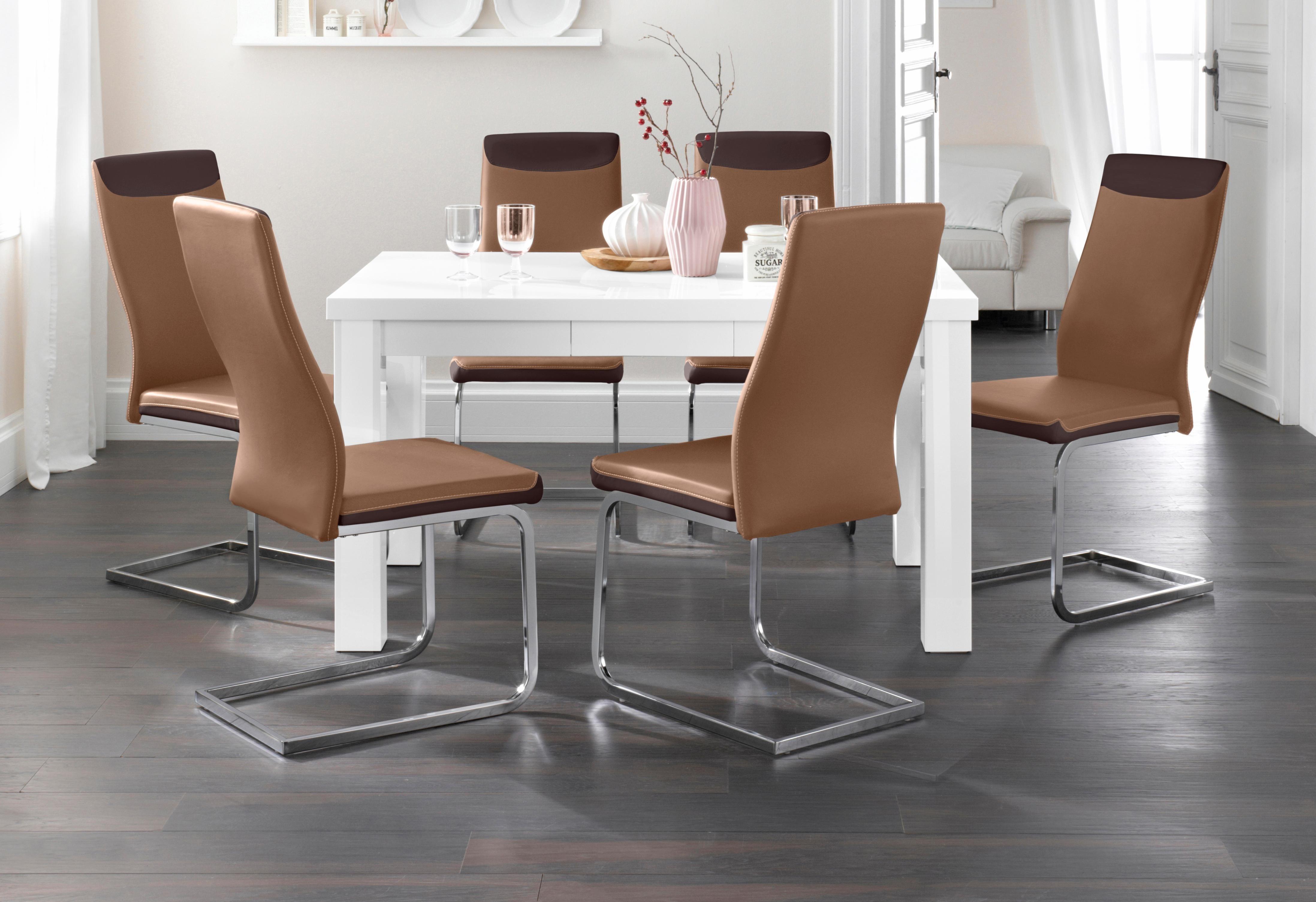 esstisch breite 140 160 cm wei online kaufen bei woonio. Black Bedroom Furniture Sets. Home Design Ideas