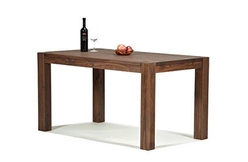 Esstisch-Rio-Bonito-120x80-cm-Pinie-Massivholz-gelt-und-gewachst-Holz-Tisch-fr-Esszimmer-Wohnzimmer-Kche-Farbton-Cognac-braun-Optional-passende-Bnke-und-Ansteckplatten-0