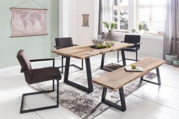 essgruppe pilsen 3 teilig eiche sanremo hell dekor. Black Bedroom Furniture Sets. Home Design Ideas