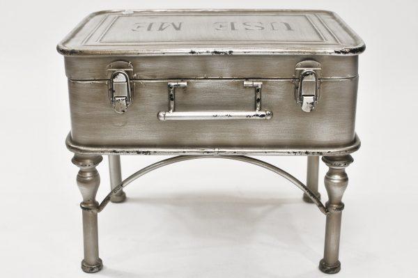 HTI-Line Tisch »Luggage« silberfarben
