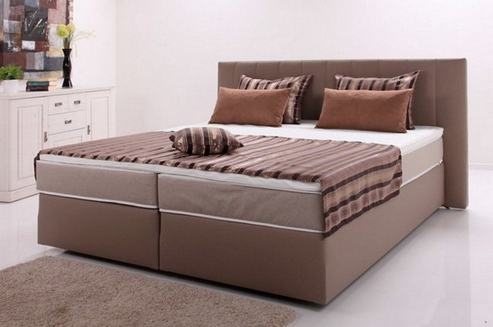 hti living boxspringbett peach ii online kaufen bei woonio. Black Bedroom Furniture Sets. Home Design Ideas