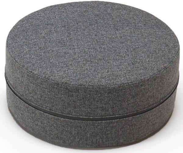 innovation hocker deconstructed als sitzkissen oder tisch nutzbar h he 20 cm grau online. Black Bedroom Furniture Sets. Home Design Ideas