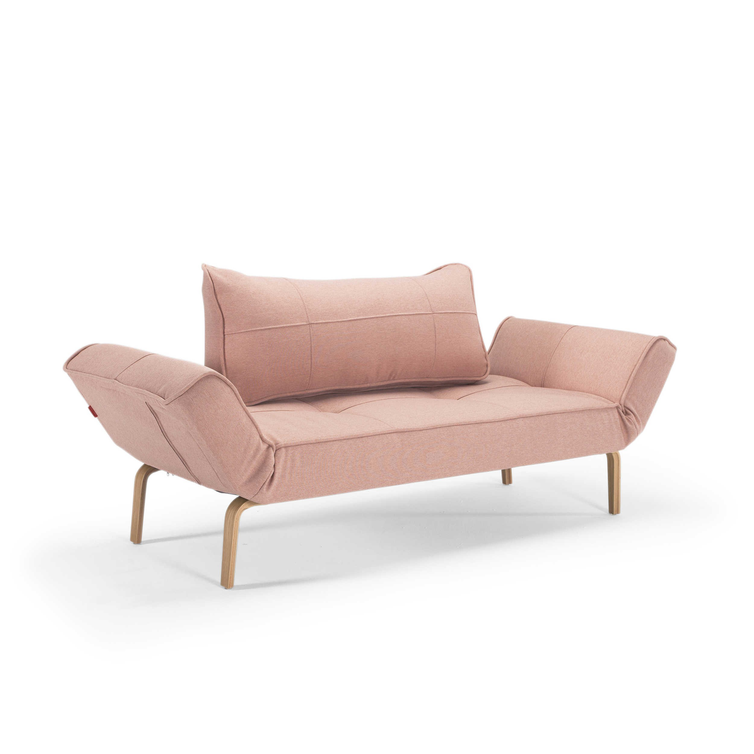 Innovation schlafsofa zeal bow rosa stoff online kaufen for Schlafsofa zeal