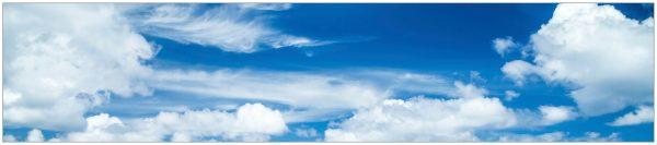 Küchenrückwand »fixy Heaven« blau 280 cm