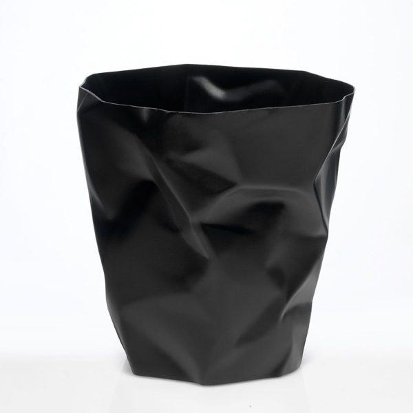 KLEIN UND MORE Klein und More Papierkorb BIN BIN schwarz schwarz