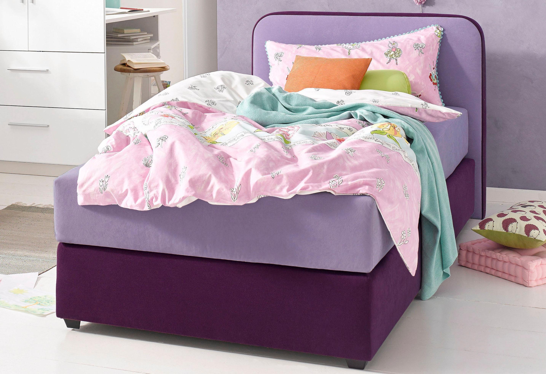 maintal boxspringbett lila 140 200 cm online kaufen bei woonio. Black Bedroom Furniture Sets. Home Design Ideas
