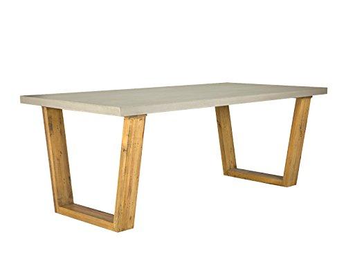 massivum gladstone esstisch 160 x 90 beton pinie holz braun 90 x 160 x 76 cm online kaufen. Black Bedroom Furniture Sets. Home Design Ideas