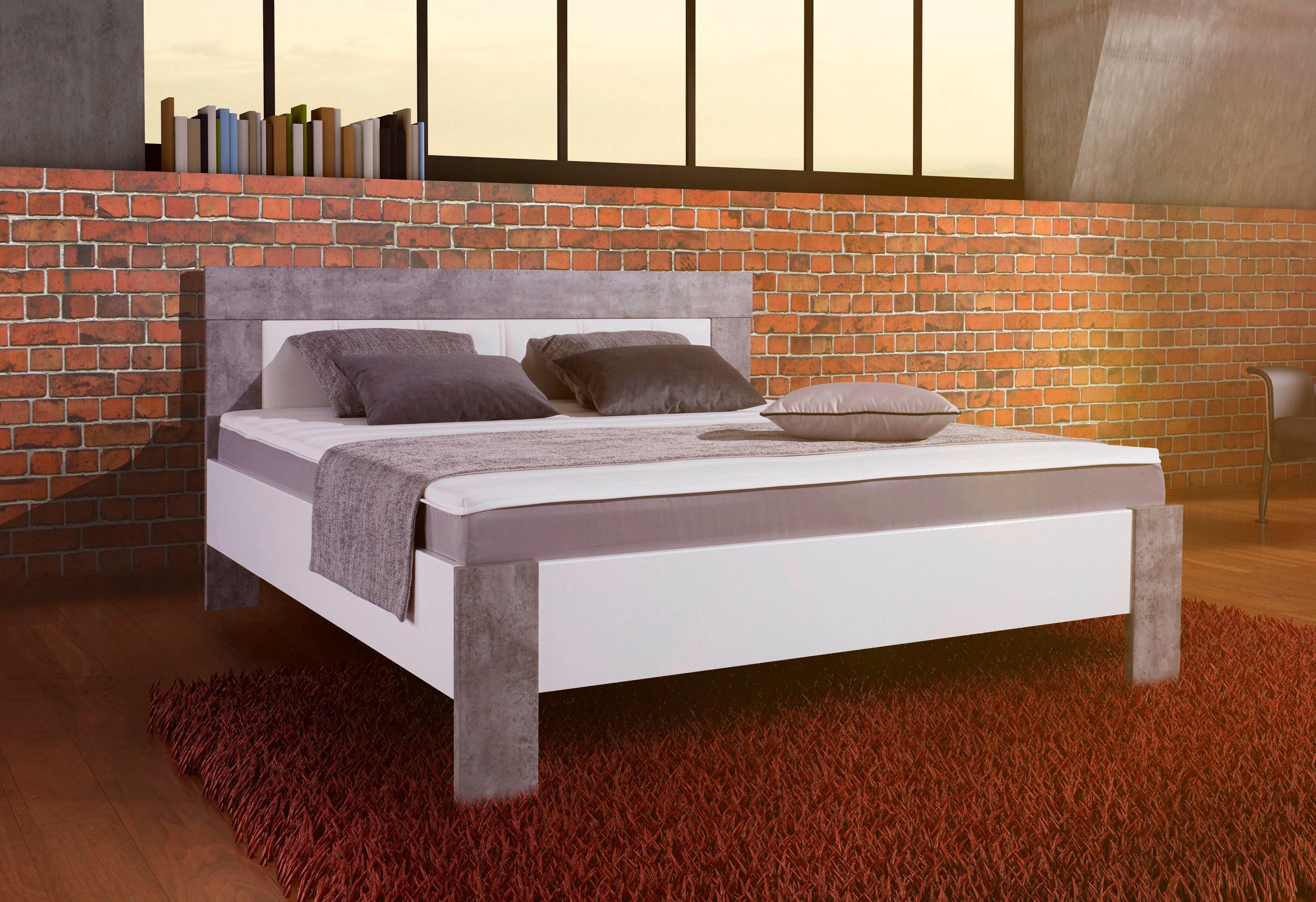 matraflex box bett grau online kaufen bei woonio. Black Bedroom Furniture Sets. Home Design Ideas