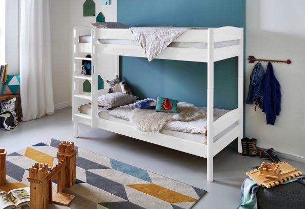 Relita Einzel-/Etagenbett »Michelle« mit runden Bettpfosten