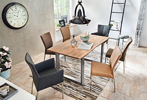 SAM-Stilvoller-Esszimmertisch-Ida-aus-Akazie-Holz-Baumkantentisch-mit-lackierten-Beinen-aus-Roheisen-naturbelassene-Optik-mit-einer-Baumkanten-Tischplatte-0