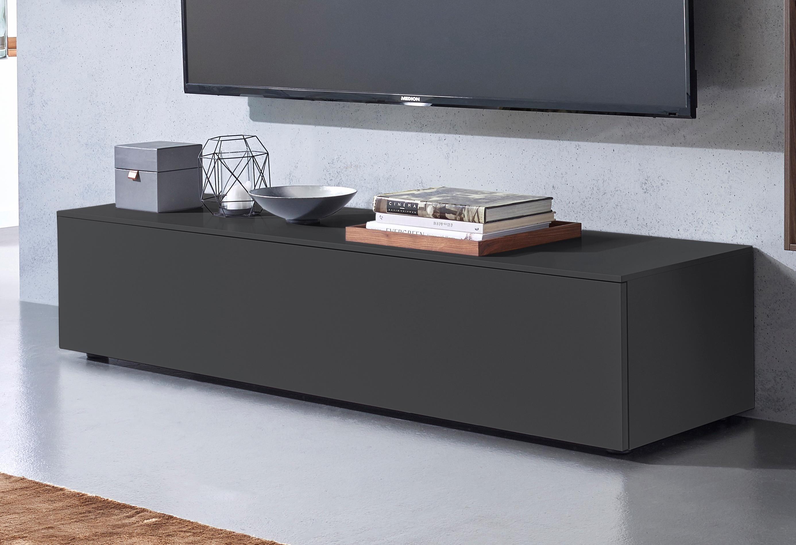 spectral lowboard select wahlweise mit tv halterung breite 160 cm schwarz online kaufen bei. Black Bedroom Furniture Sets. Home Design Ideas
