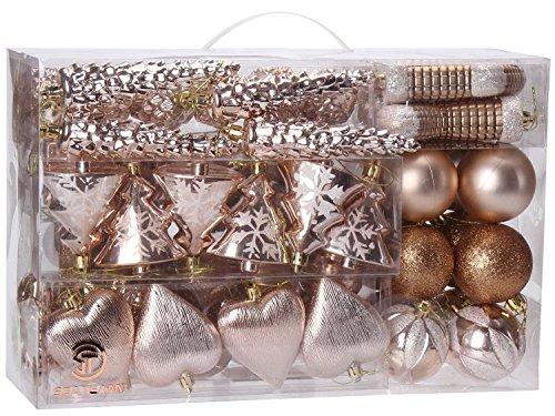 Sea Team 72 Weihnachtskugeln Box Christbaumschmuck Aus Kunststoff