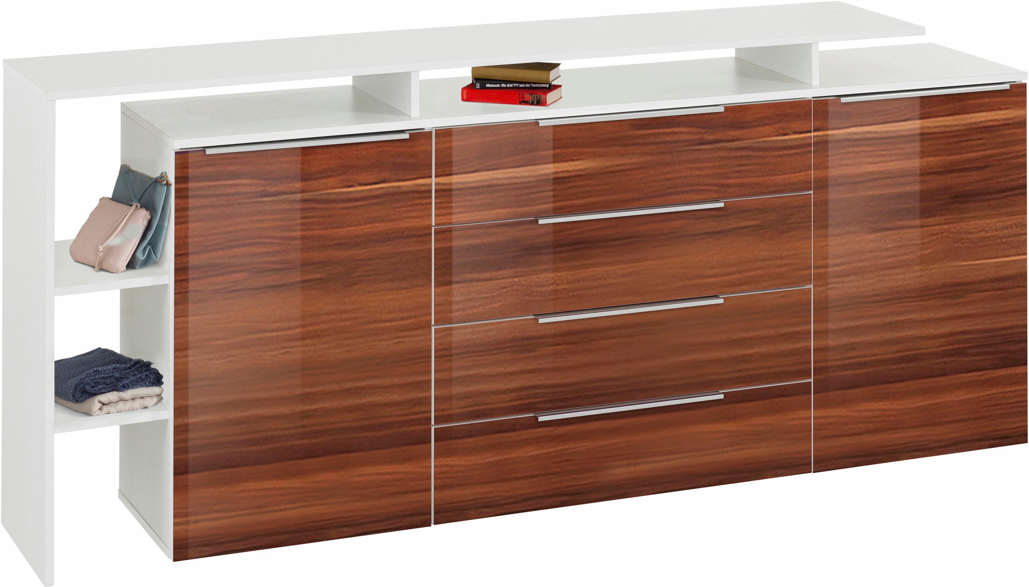 sideboard lara breite 188 cm braun online kaufen bei woonio. Black Bedroom Furniture Sets. Home Design Ideas