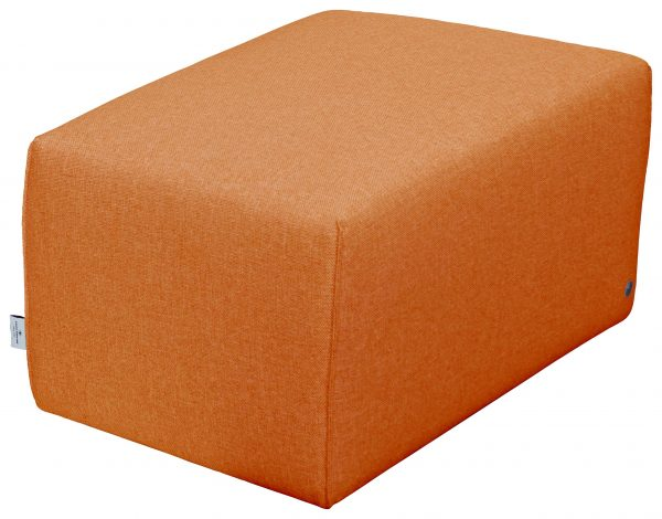 TOM TAILOR Hocker »LAZY« orange