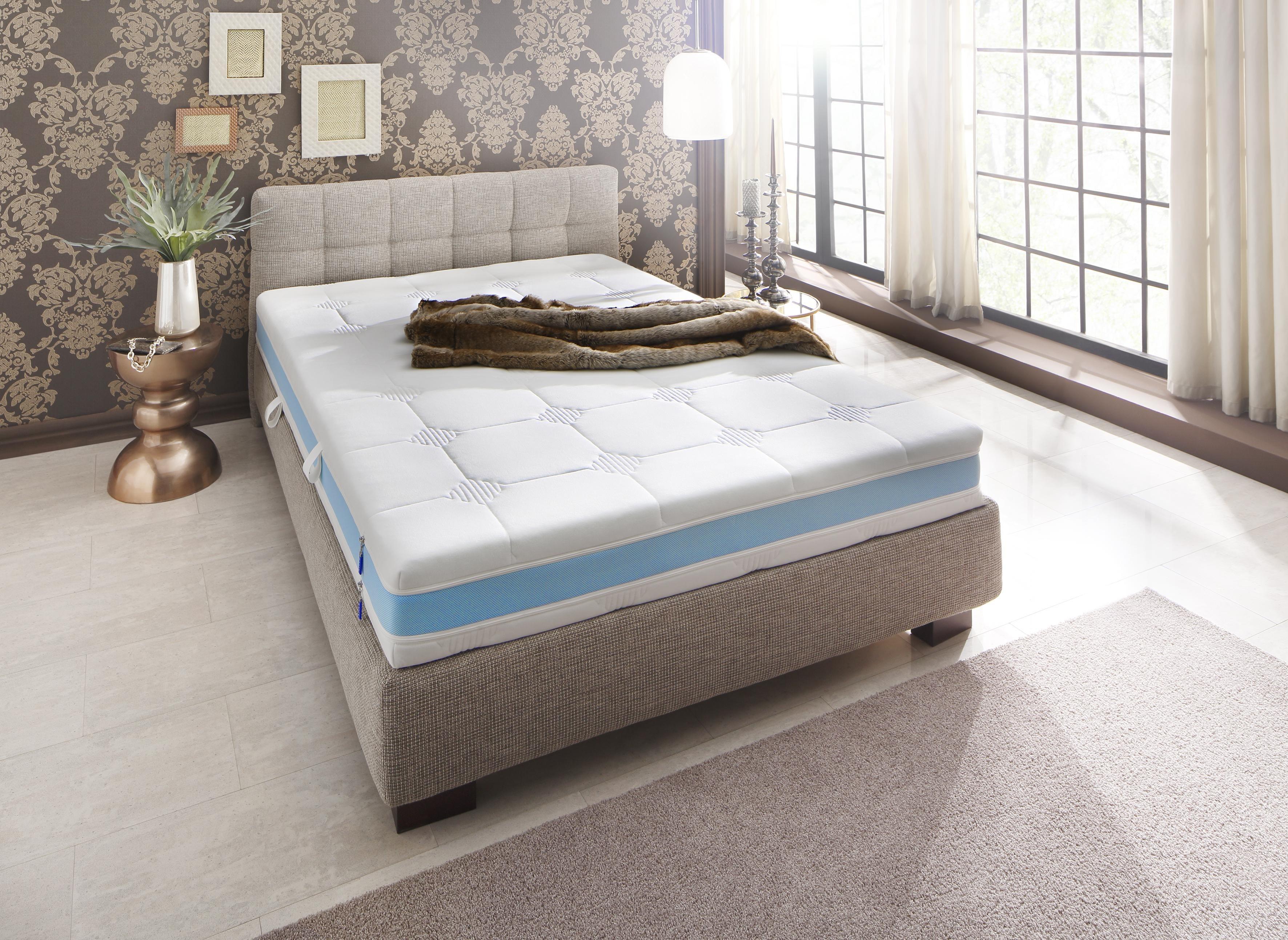 taschenfederkernmatratze leonie malie 19 cm hoch 448 federn 200x200 cm online kaufen bei. Black Bedroom Furniture Sets. Home Design Ideas