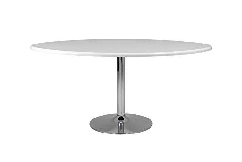 Tenzo-3122-001-Soft-Designer-Esstisch-oval-Holz-wei-chrom-110-x-160-x-745-cm-0