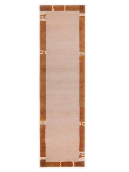 Theko die Markenteppiche Hochflorteppich natur ca. 40/60 cm|ca. 80/200 cm