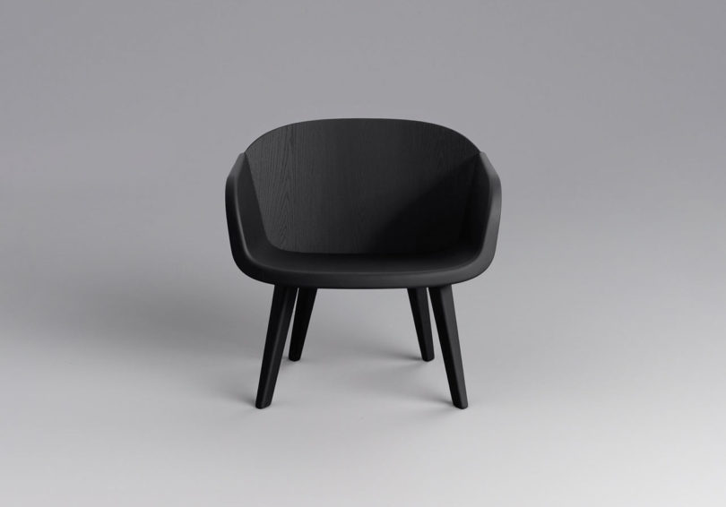 Victor castanera s velar lounge chair inspired by the for Victor castanera
