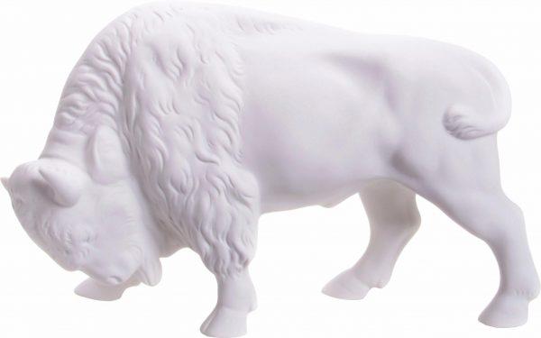Wagner & Apel Figur »Bison« aus Porzellan weiß