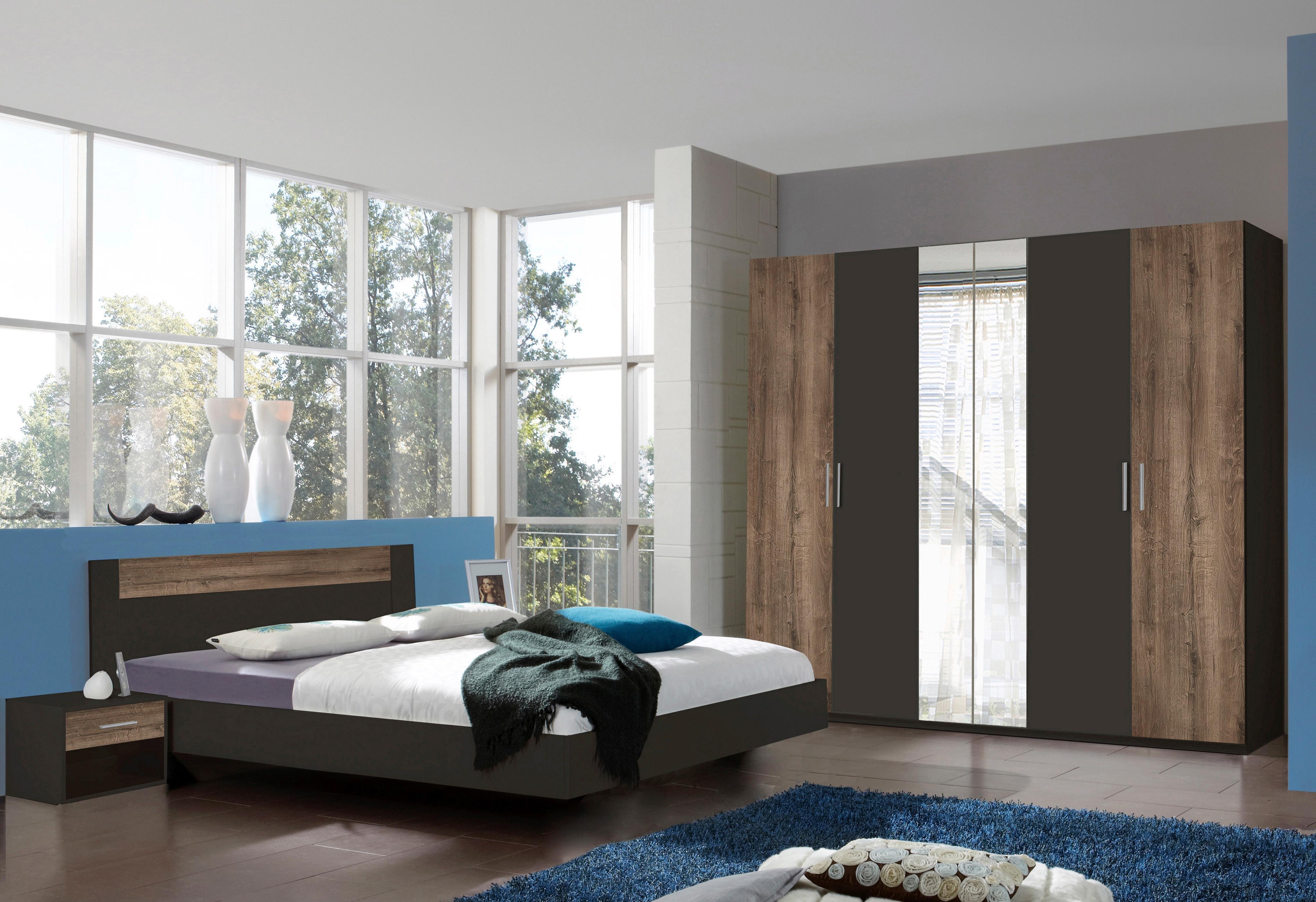 wimex schlafzimmer set mit dreht renschrank 4 tlg natur online kaufen bei woonio. Black Bedroom Furniture Sets. Home Design Ideas