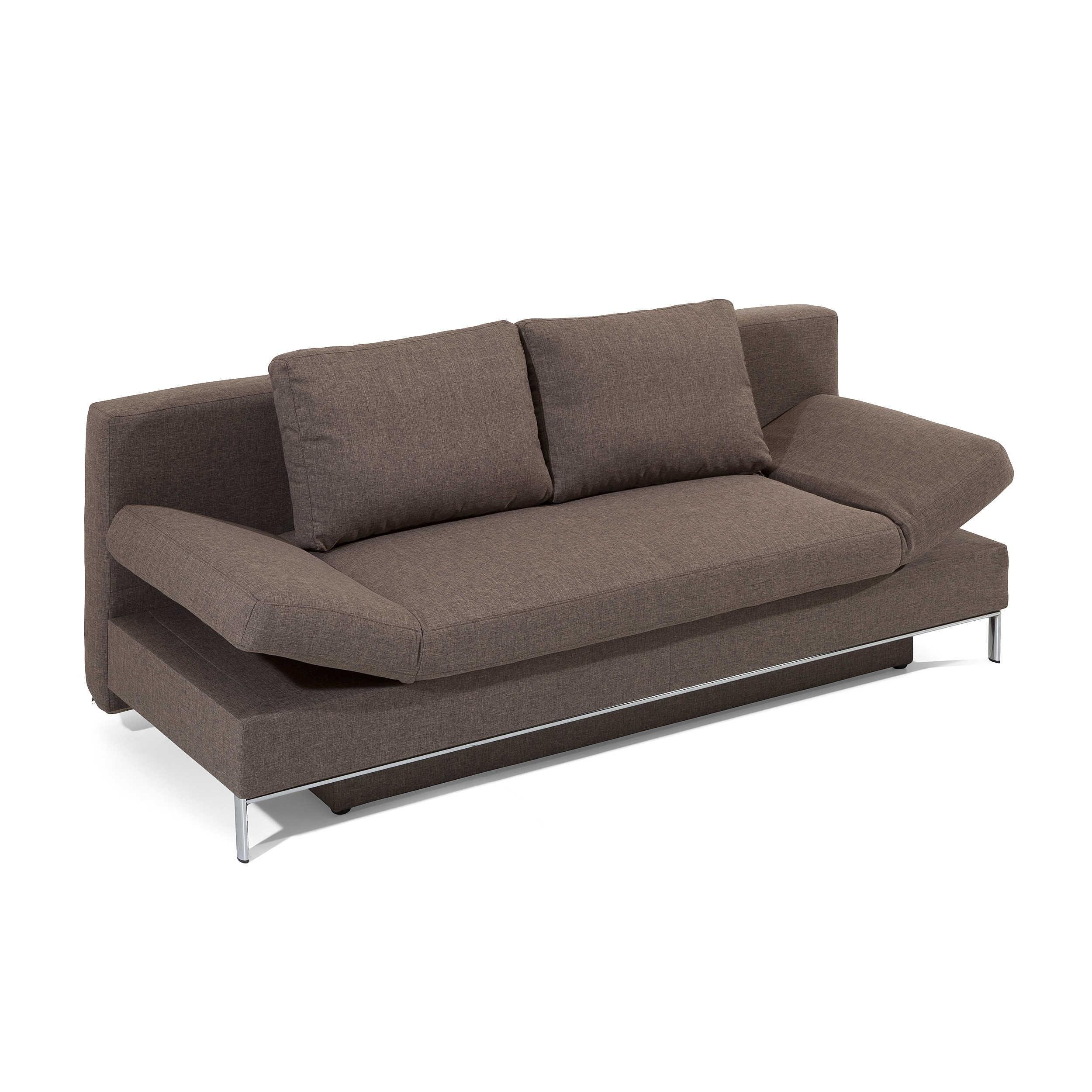 schlafsofa occa braun stoff online kaufen bei. Black Bedroom Furniture Sets. Home Design Ideas