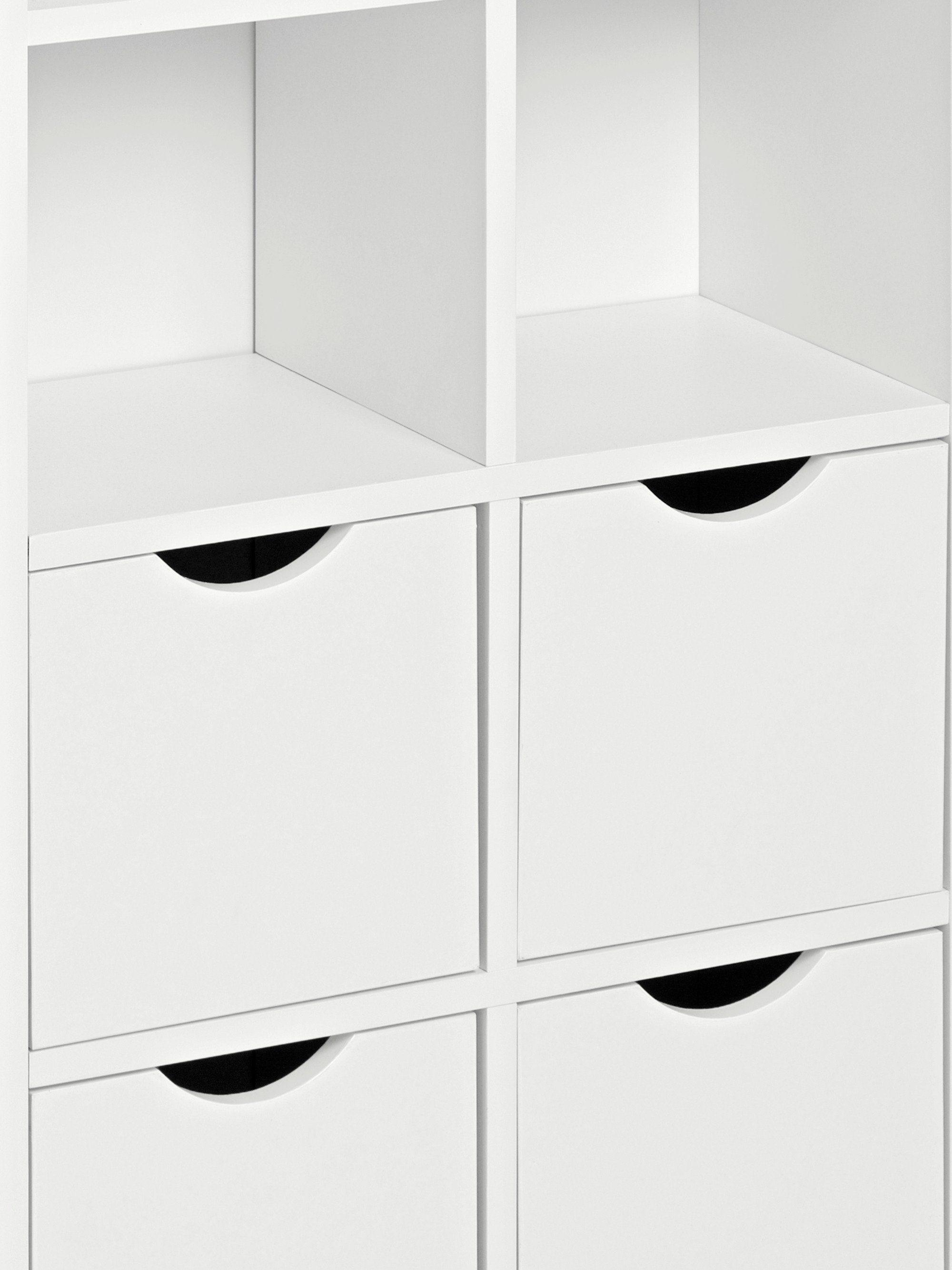 heine home cd dvd regal wei online kaufen bei woonio. Black Bedroom Furniture Sets. Home Design Ideas