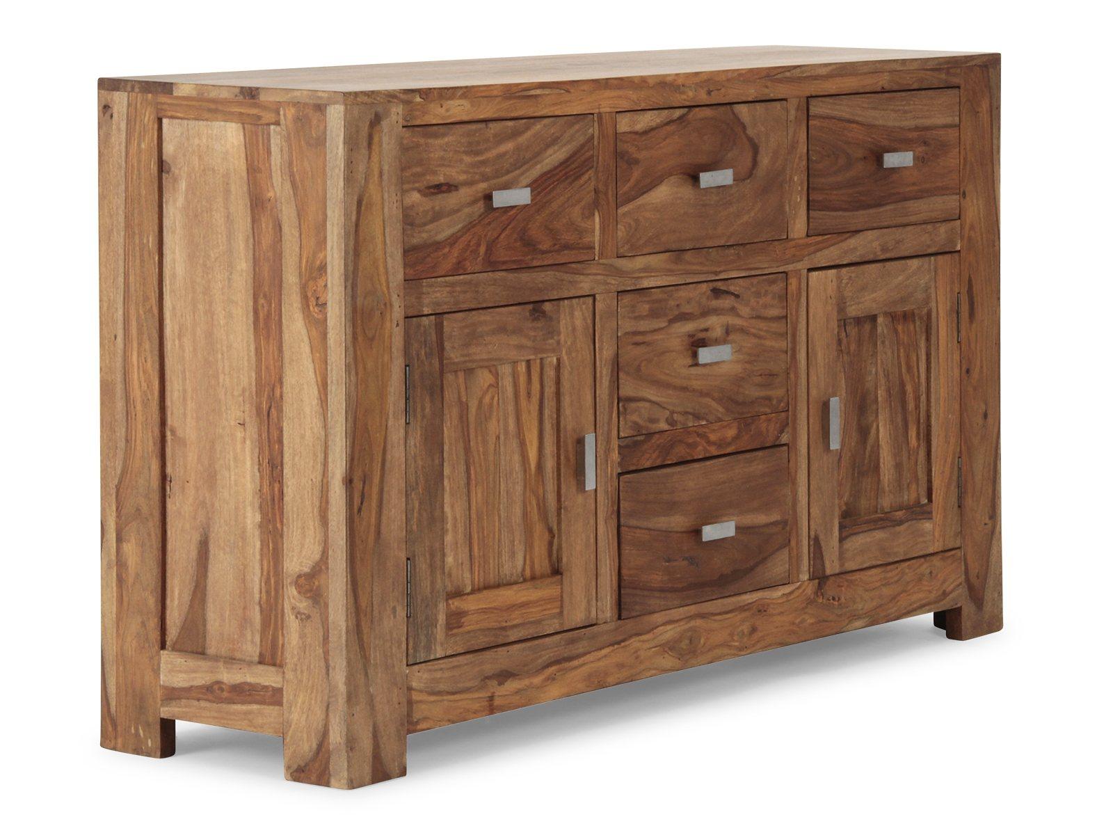 massivum sideboard monrovia natur online kaufen bei woonio. Black Bedroom Furniture Sets. Home Design Ideas