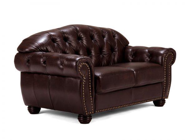 massivum Sofa aus Echtleder »Cardiff « braun