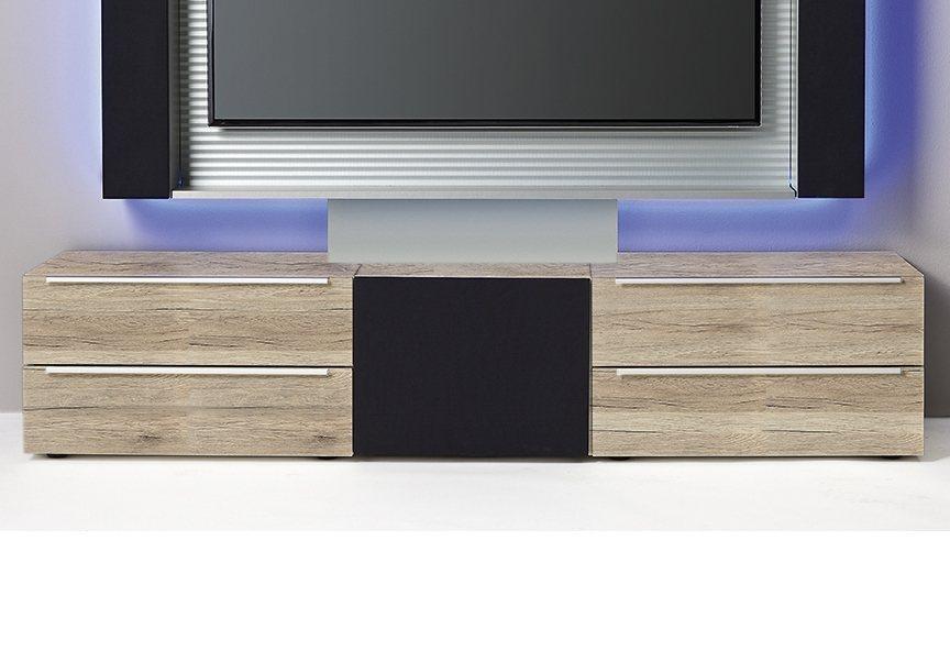set one by musterring lowboardkombination phoenix breite 190 cm braun online kaufen bei woonio. Black Bedroom Furniture Sets. Home Design Ideas