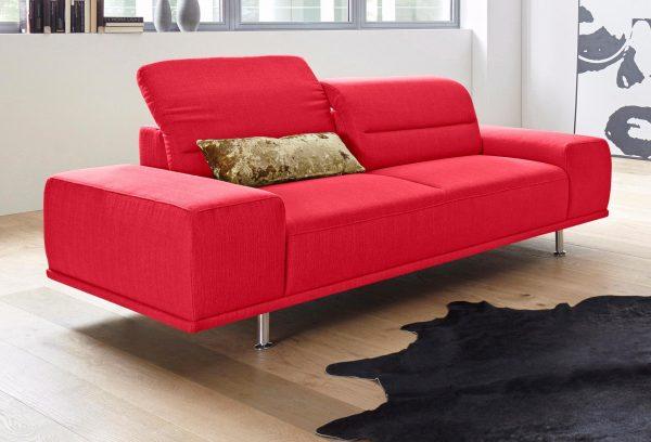 sit&more 3-Sitzer mit Federkern
