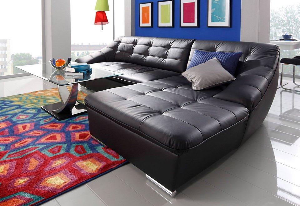 sit more polsterecke wahlweise mit bettfunktion braun online kaufen bei woonio. Black Bedroom Furniture Sets. Home Design Ideas