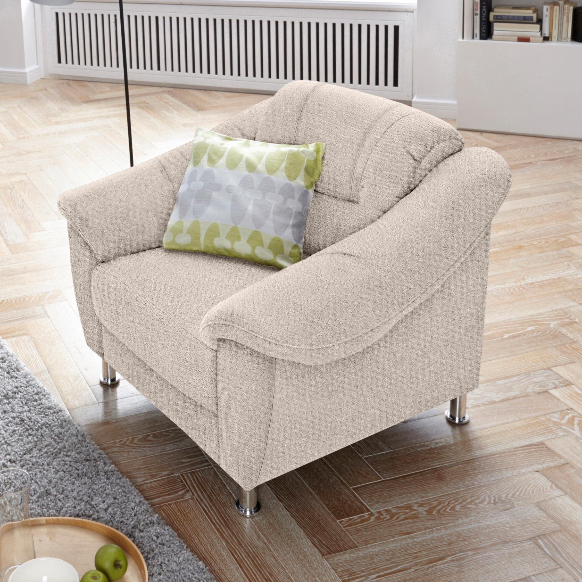 Sit more sessel mit federkern natur online kaufen bei woonio for Sessel natur