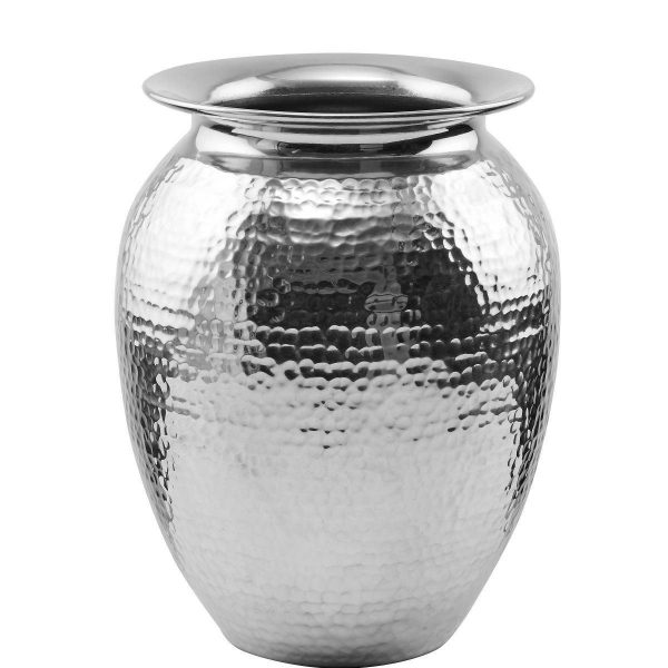 BUTLERS ORIENTAL LOUNGE »Vase« silberfarben