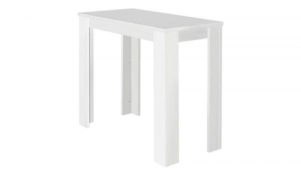 Bartisch  Bar Bartisch  Bar-Bartisch-weiß Breite: 60 cm Höhe: 104 cm weiß
