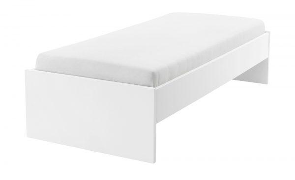 Bett  Holly Bett  Holly-Bett-weiß Breite: 97 cm Höhe: 42 cm weiß