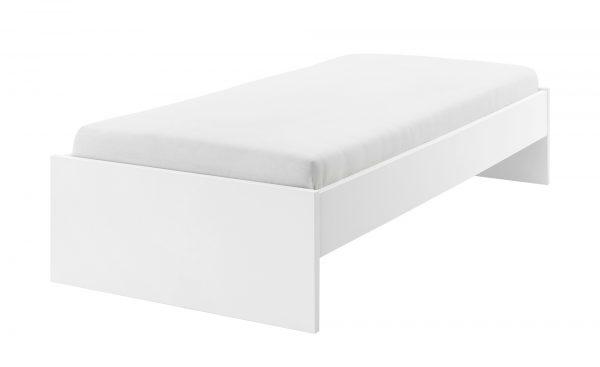 Bett  Holly Bett  Holly-Bett-weiß Breite: 107 cm Höhe: 42 cm weiß