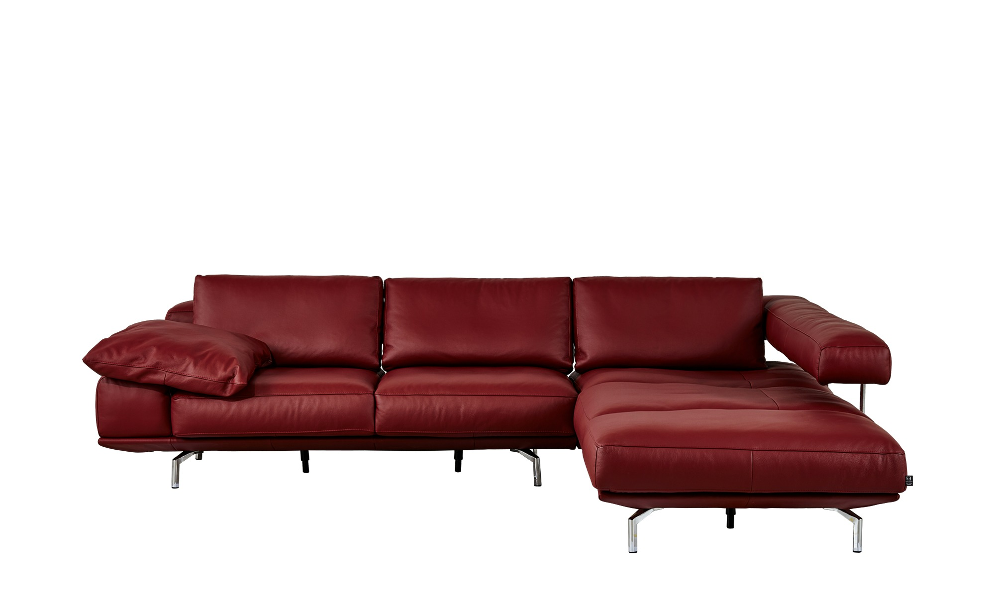 design ecksofa shine breite h he 86 cm rot online kaufen bei woonio. Black Bedroom Furniture Sets. Home Design Ideas