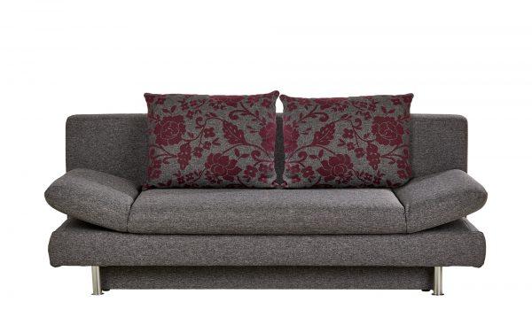 Design-Schlafsofa  Olivia Design-Schlafsofa  Olivia-Design-Schlafsofa-grau Breite: 195 cm Höhe: 87 cm grau