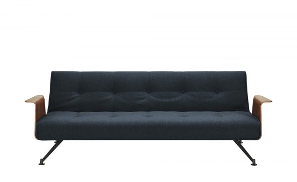 Design-Sofa  Jazz Design-Sofa  Jazz-Design-Sofa-blau Breite: 232 cm Höhe: 77 cm blau