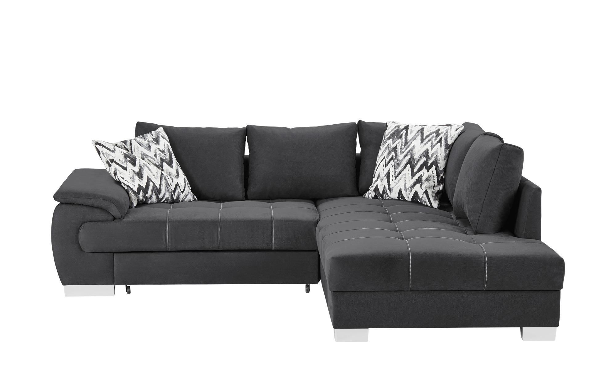 ecksofa brenda breite h he 83 cm grau online kaufen bei woonio. Black Bedroom Furniture Sets. Home Design Ideas