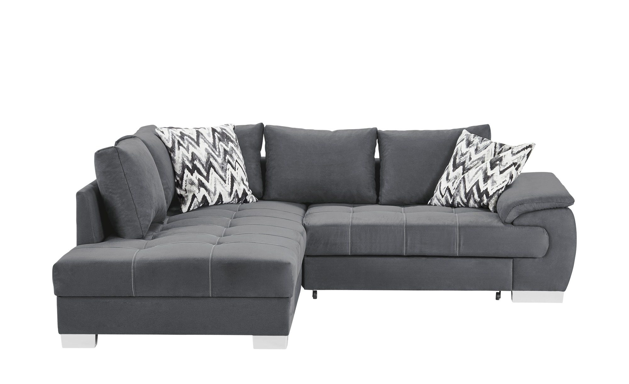 ecksofa brenda breite h he 83 cm grau online kaufen bei woonio. Black Bedroom Furniture Sets. Home Design Ideas