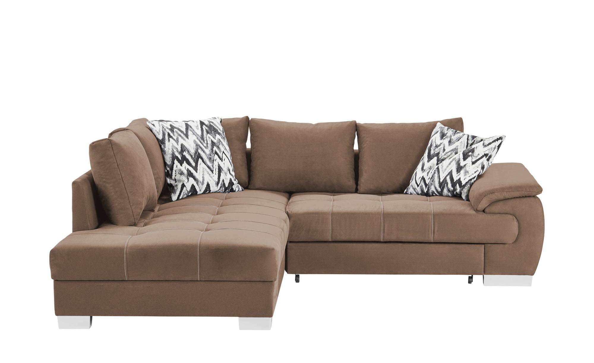 ecksofa brenda breite h he 83 cm braun online kaufen bei woonio. Black Bedroom Furniture Sets. Home Design Ideas