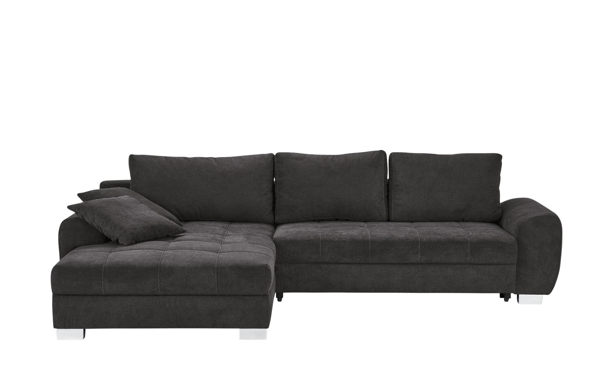 Ecksofa caren breite h he 88 cm grau online kaufen bei for Ecksofa breite 200 cm