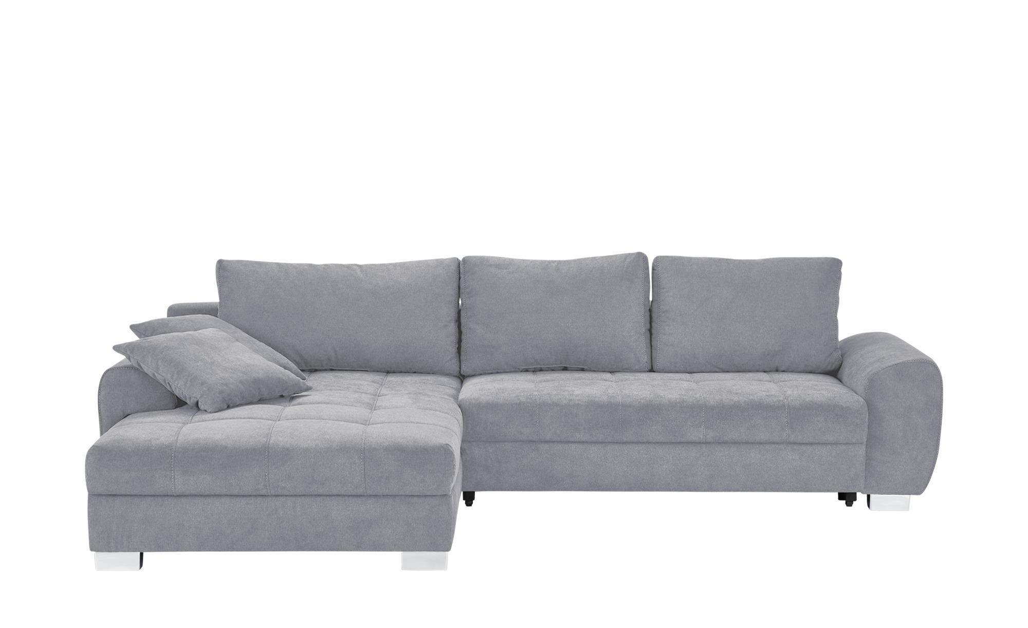 Ecksofa caren breite h he 88 cm grau online kaufen bei for Ecksofa unter 100