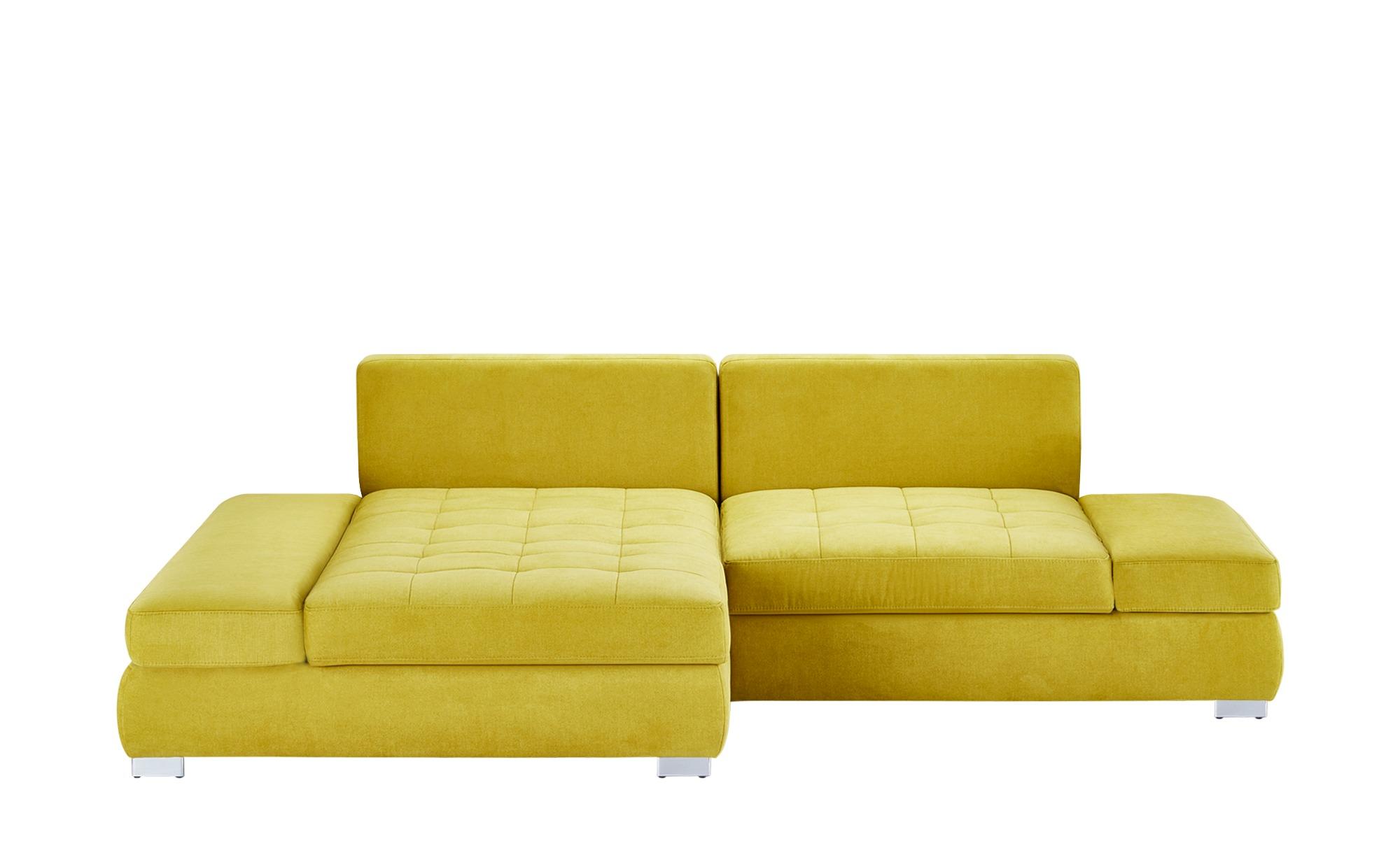 Ecksofa curacao breite h he 74 cm gelb online kaufen bei for Ecksofa breite 200 cm