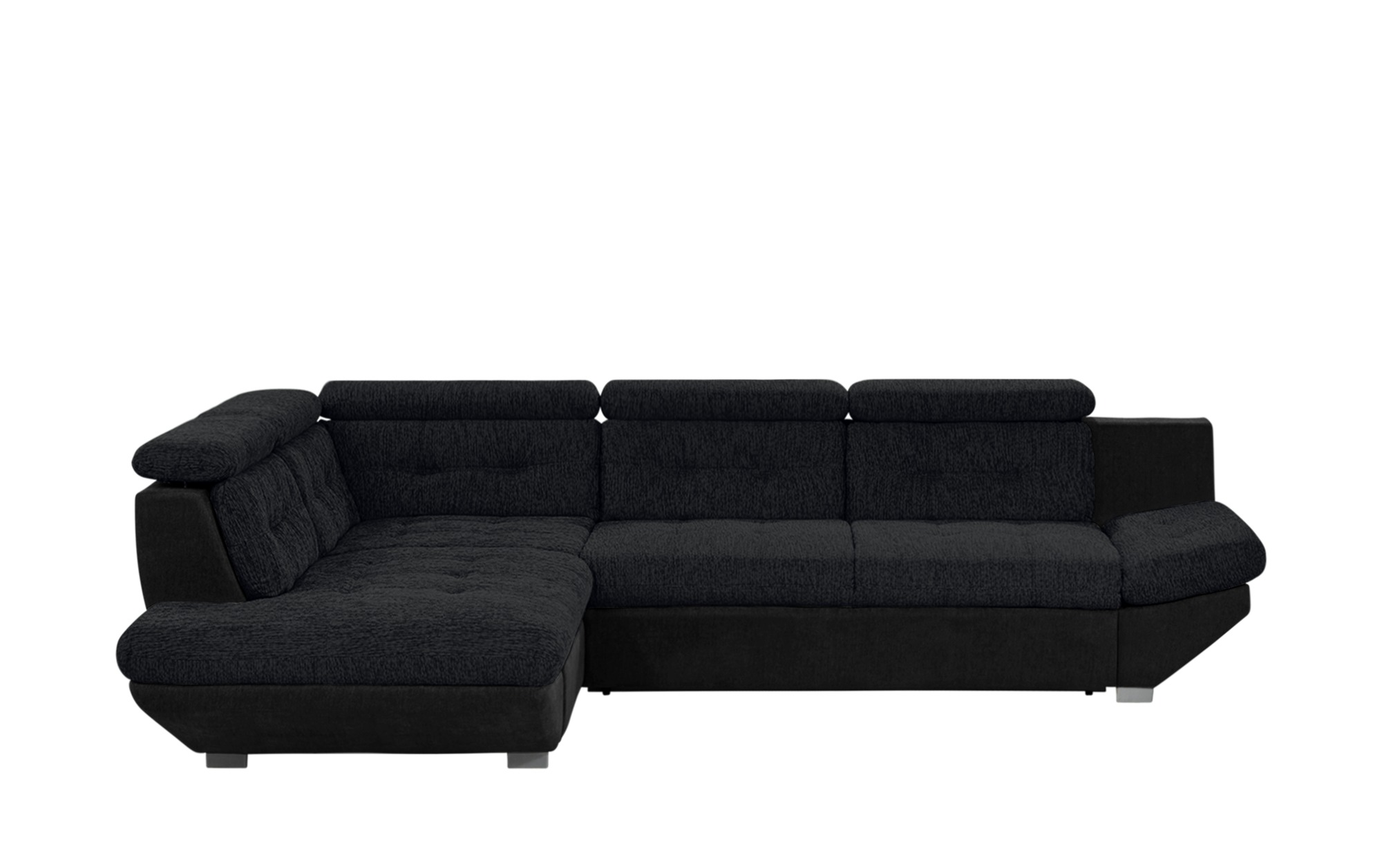 ecksofa elias ii breite h he 80 cm schwarz online kaufen bei woonio. Black Bedroom Furniture Sets. Home Design Ideas